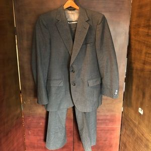 Johnny Carson 2 Piece Suit Gray
